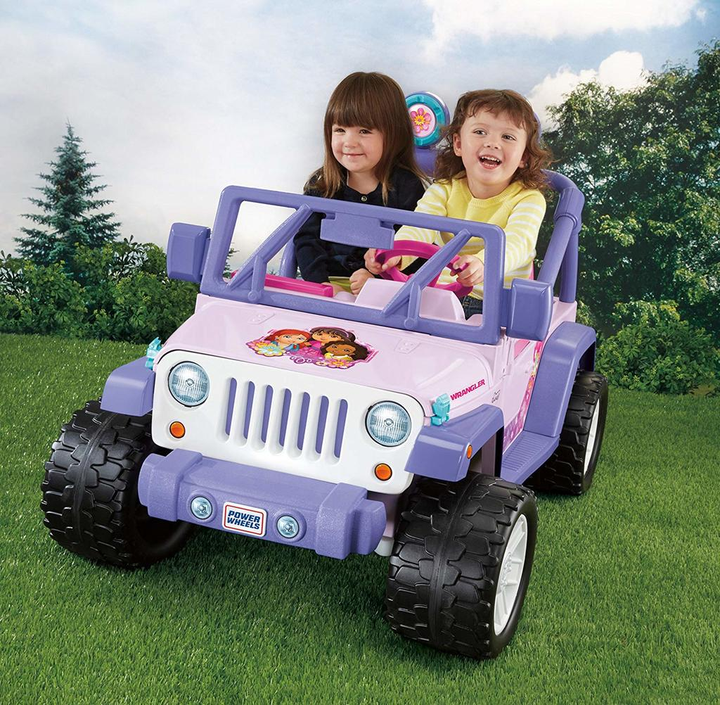 Check out this Nickedoleon Dora the Explorer Power Wheels for Girls today!