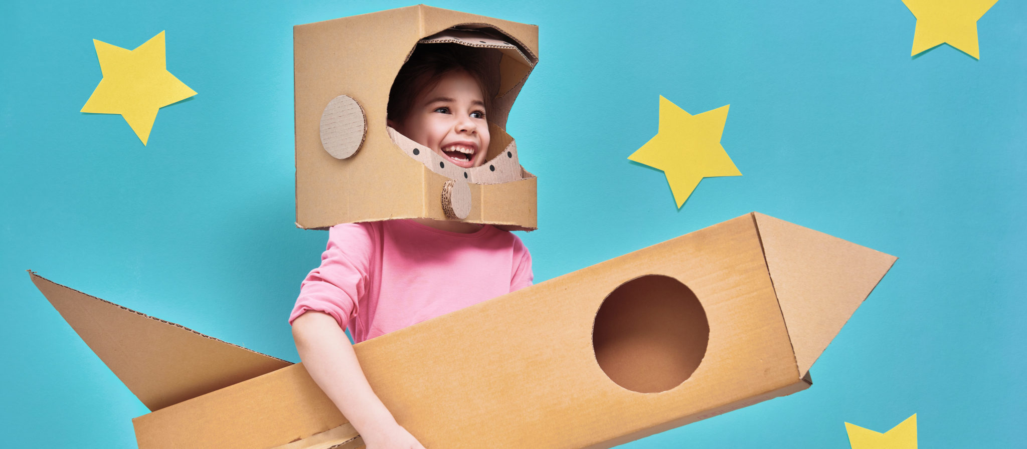 Cardboard boxes deliver hours of endless fun.