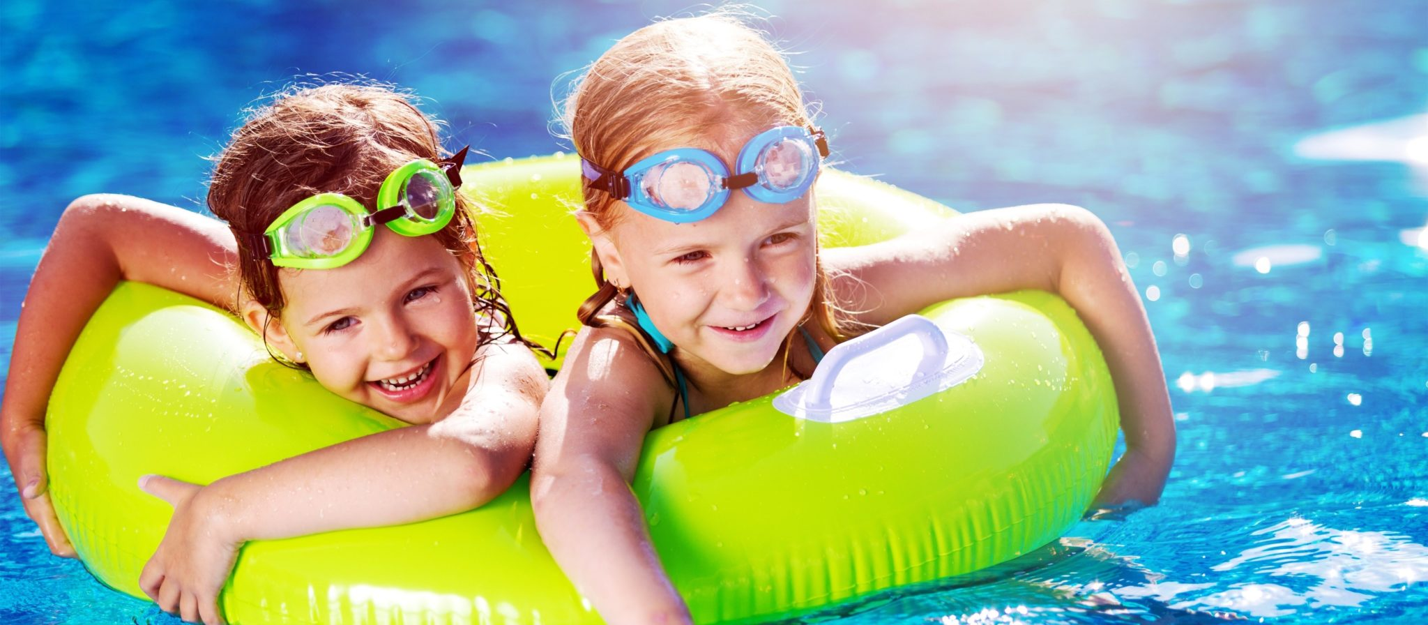 Socializing is one of the other swimming benefits for young children. Fun times at the pool develop important communication skills.