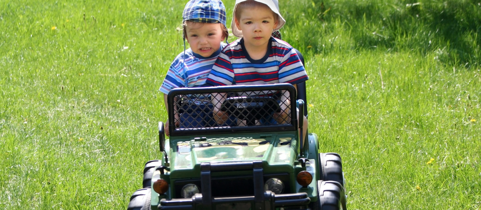 The Power Wheels Jeep 2 Seater is a sick outdoor ride on toy for kids!