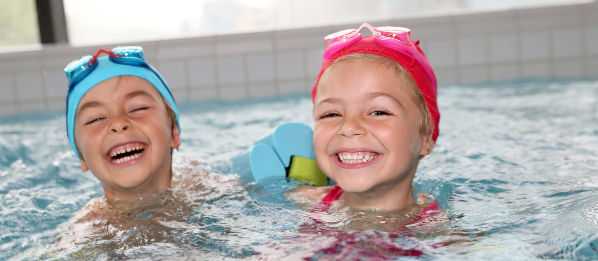 One of the many benefits of swimming for kids involves easy exercise that is actually fun.