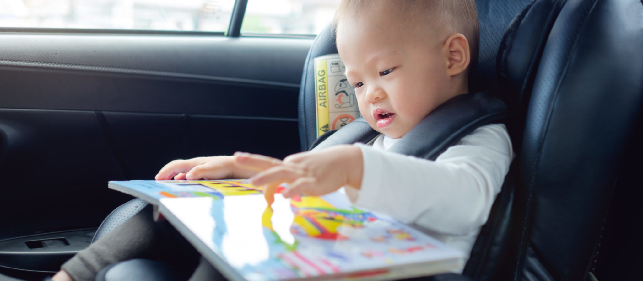 Car activities for 1 year old baby boy can entertain and educate all at once.