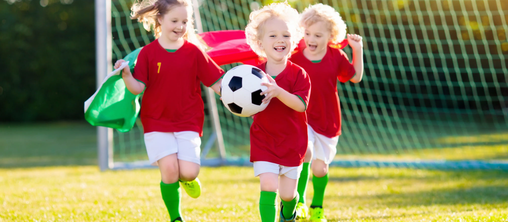 Early physical activity, specifically team-oriented sports, are a great way to enhance motor skills.