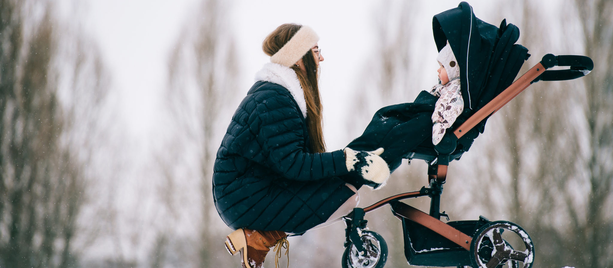 The right transportation makes a big difference for your baby in the winter!