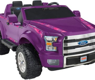 Purple F150 Power Wheel