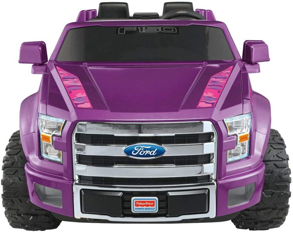 Purple F150 Power Wheel